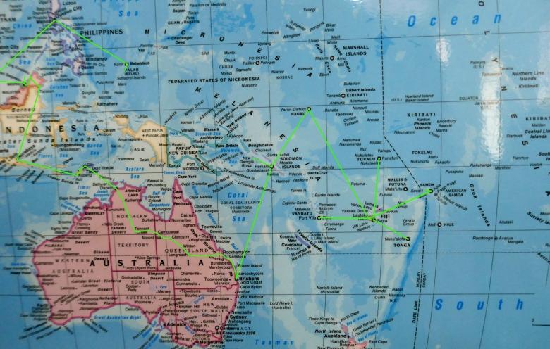 Route Pazifik