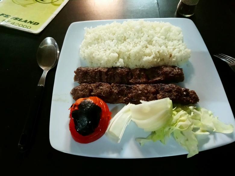 NRU Boe Kebab-e-kubideh